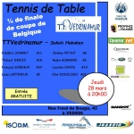 Coupe de Belgique tennis de table